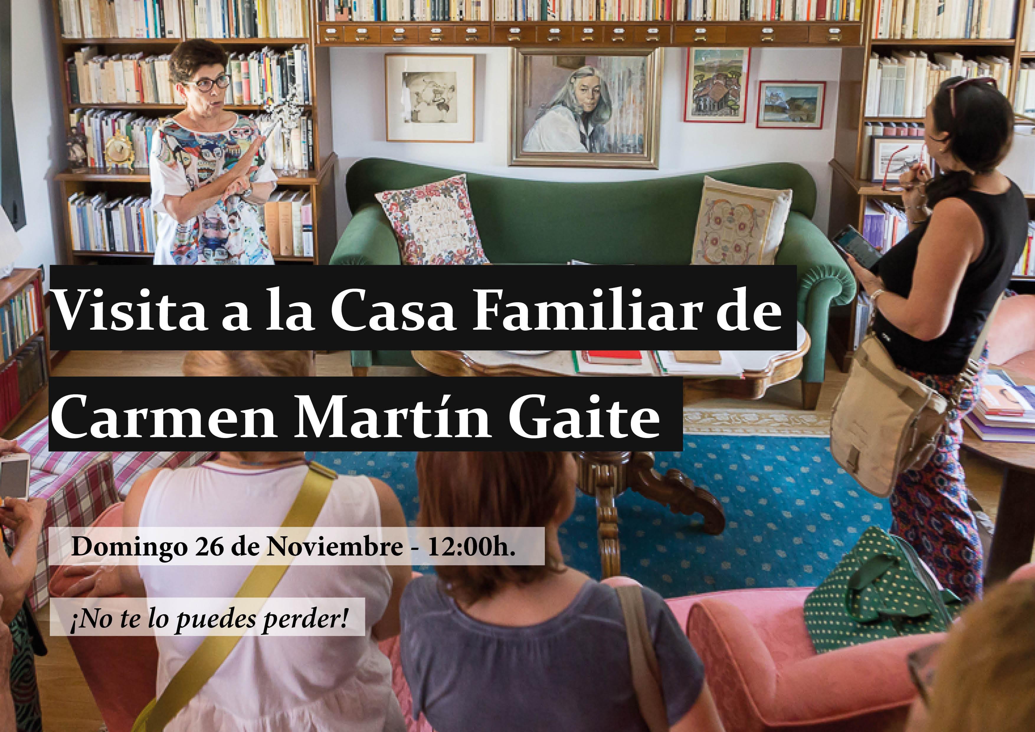 Web Visita Casa Familiar Carmen Martin Gaite