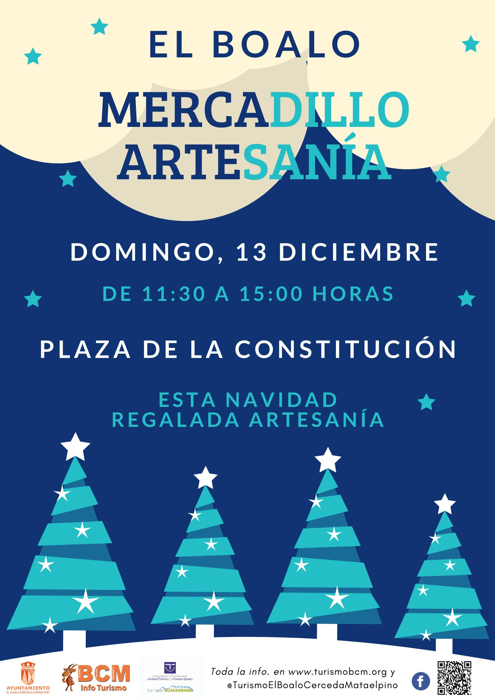 Mercadillo Artesania 13diciembreBoalo